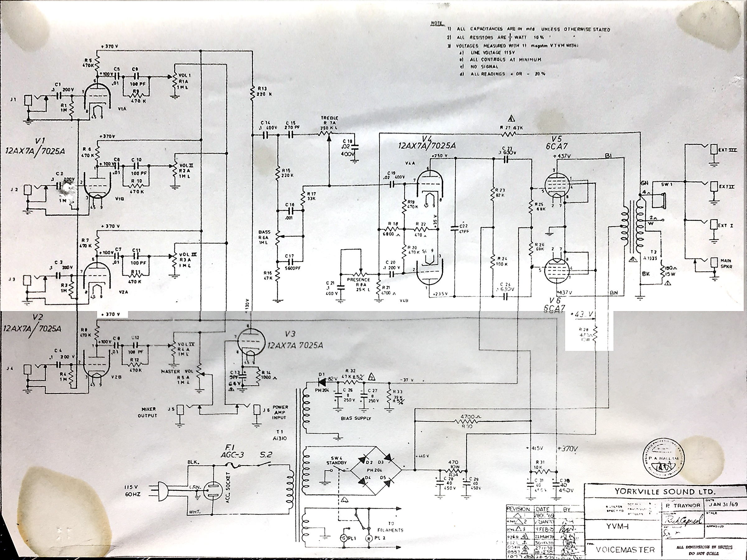 Traynor Amp Schematics Carvin Guitar Schematic The Gear Page 2400x1800
